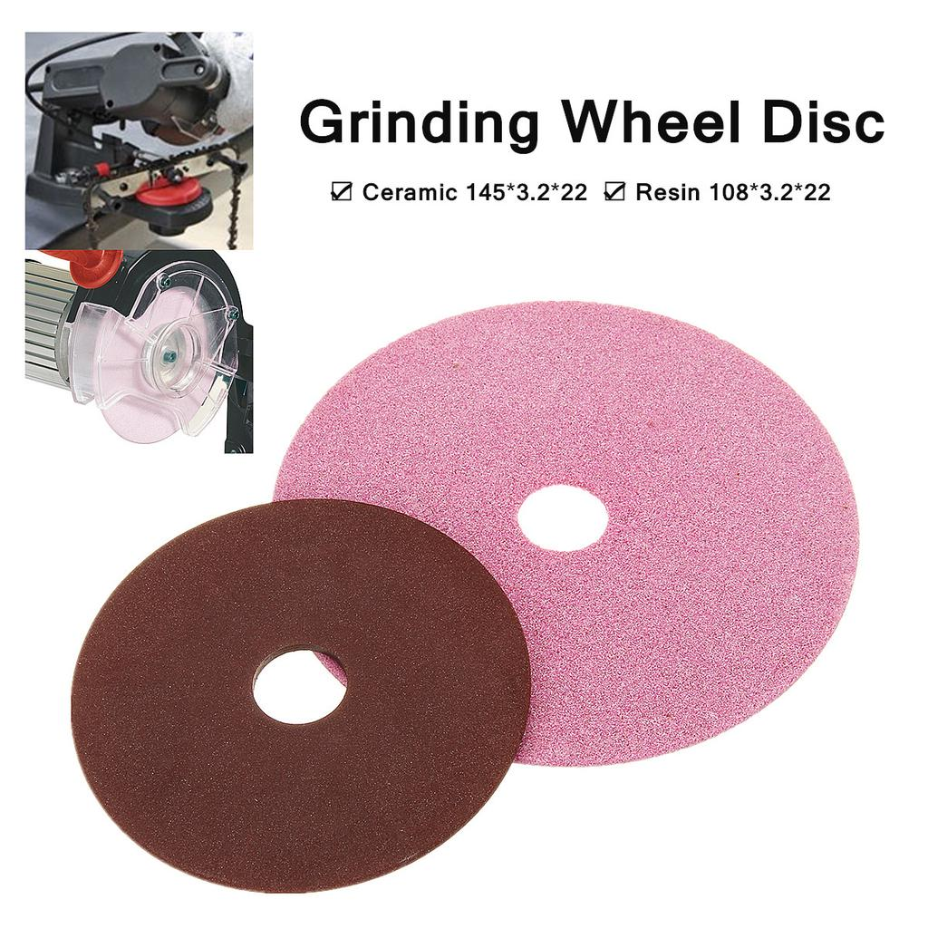 Chainsaw Saw Chain Grinding Wheel Stone 145mm x 22mm x 3.2mm For 3//8 LP .325