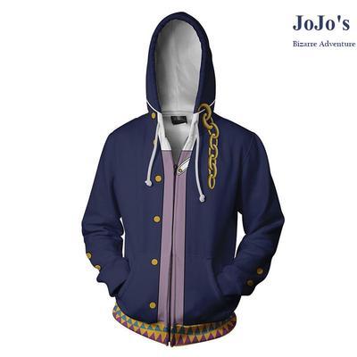 Long Sleeve Hoodie Print Golden Skull Jacket Zipper Coat Fashion Mens Sweatshirt Full-Zip S-3xl