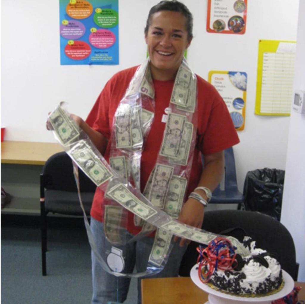 Today-Cake ATM-Last day promotion Happy Birthday Cake Topper Money Funny Bo Top