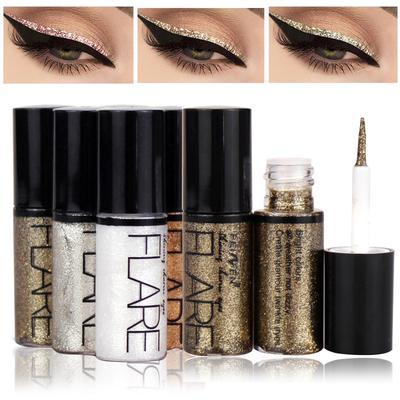 Liquid Glitter Eyeliner Shiny Eye Liners Glitter Liquid Shining Waterproof Eyeshadow Makeup  Liquid Eyeliner