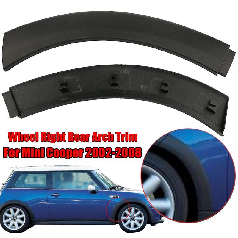 For Mini Cooper S Pair Set of Front Left /& Right Bumper Cover Trim Spoilers