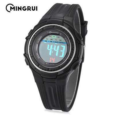 697fe4092c7c MINGRUI Señor - 8555096 niños Digital Movt reloj luz LED fecha día alarma  cronógrafo 3ATM reloj