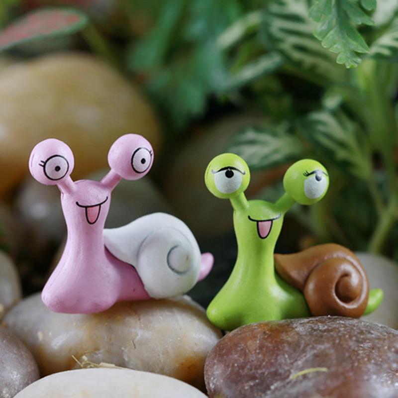 DIY сад улитки фея декоративных ремесел фото