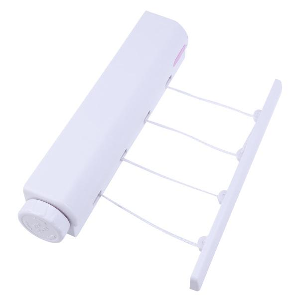 retractable clothesline 4 line clothes drying rack portable laundry dryer for indoor and outdoor use