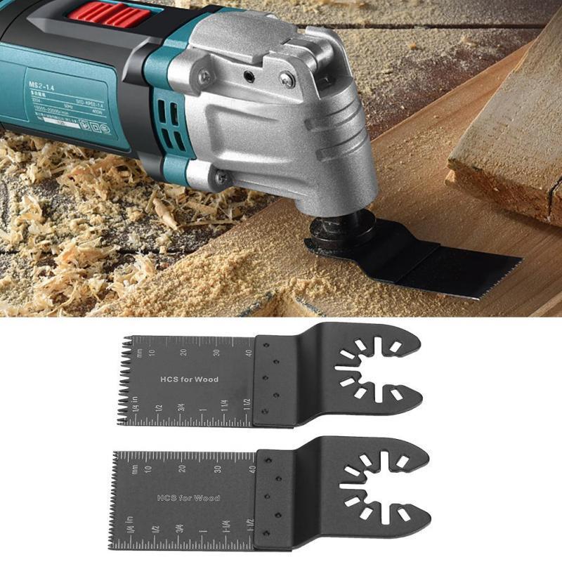 Universal 10 pcs 34mm Oscillating Multi Tool Saw Blades Carbon Steel Cutter DIY