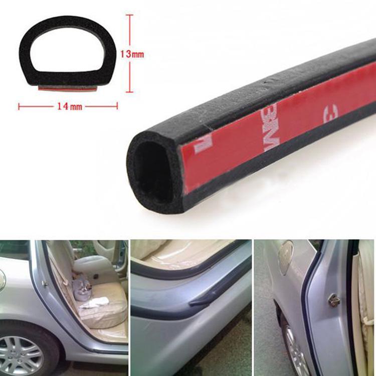 160/'/' 4M Z Shape Car Window Door Rubber Seal Weatherstrip Strip Hollow Car Oy