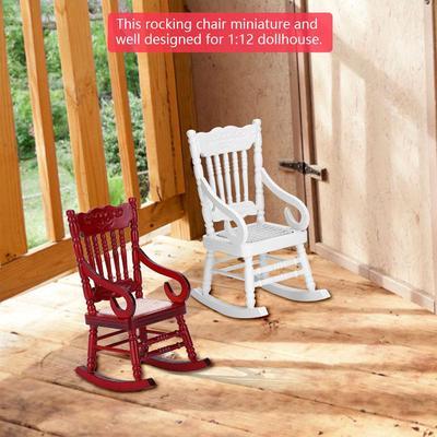 01 12 Casă De Păpusi Miniaturale Mobilier Lemn Balansoar Pentru Păpusi Casa Accesorii Decor Jucarii Cumpărați Cu Prețuri Reduse Din Magazinul Online Joom