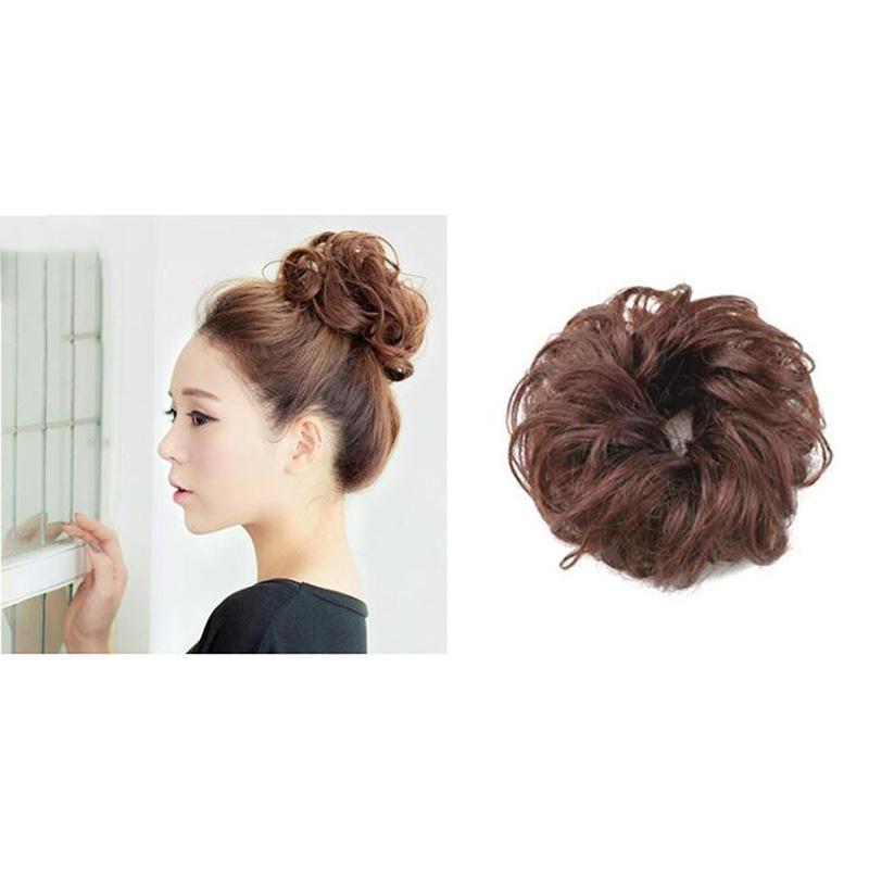 Мода женщин Curly эластичная синтетическая wig Headband – купить по низким ценам в интернет-магазине Joom