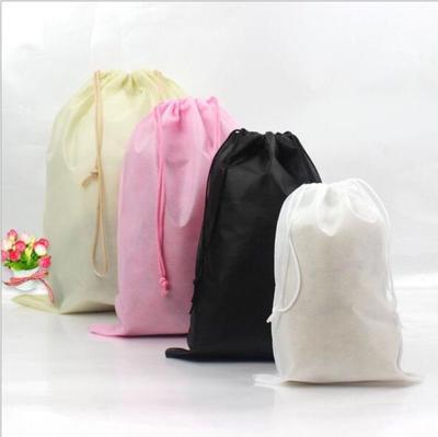 Bamboo Picture Drawstring Portable Storage Shoe Outdoor Travel Bag Dustproof Gift Bags