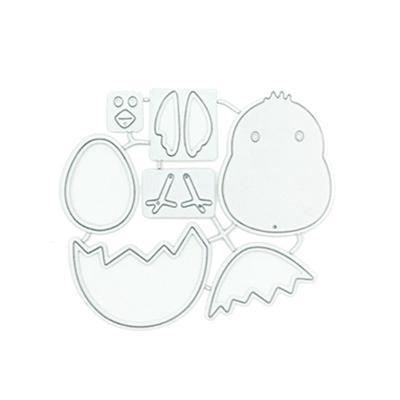 Metal Cutting Dies Cut Die Mold New Easter Carrot Rabbit Scrapbook