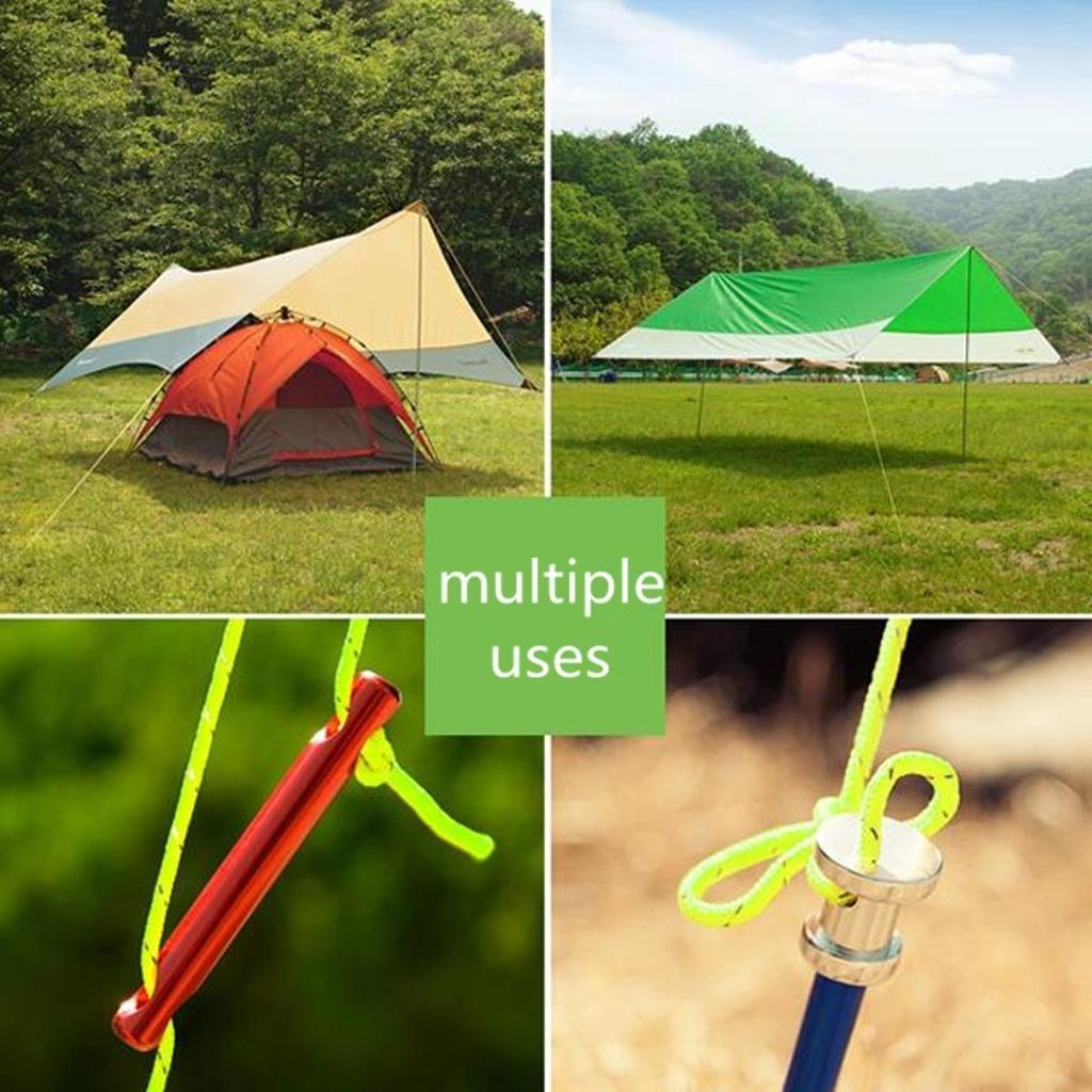 2.5MM Camping Tent Awning Reflective Guyline Rope Runners Guy Line Paracord