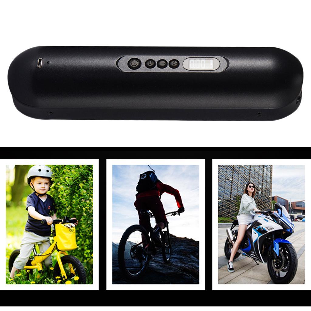 Portable Bike Bicycle Tire Inflator Air Pump Inflator Extension Tube Kit Tool