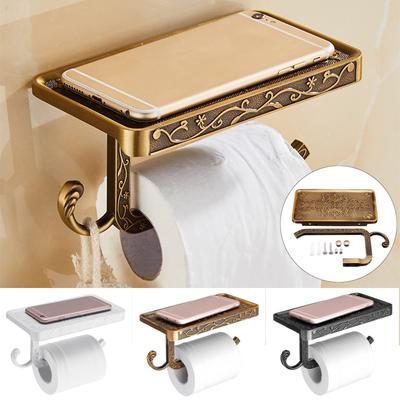 Bathroom Paper Holder 3 Colors Wall Mounted Toilet Roll Tissue Holder Stand Phone Shelf Buy At A Low Prices On Joom E Commerce Platform