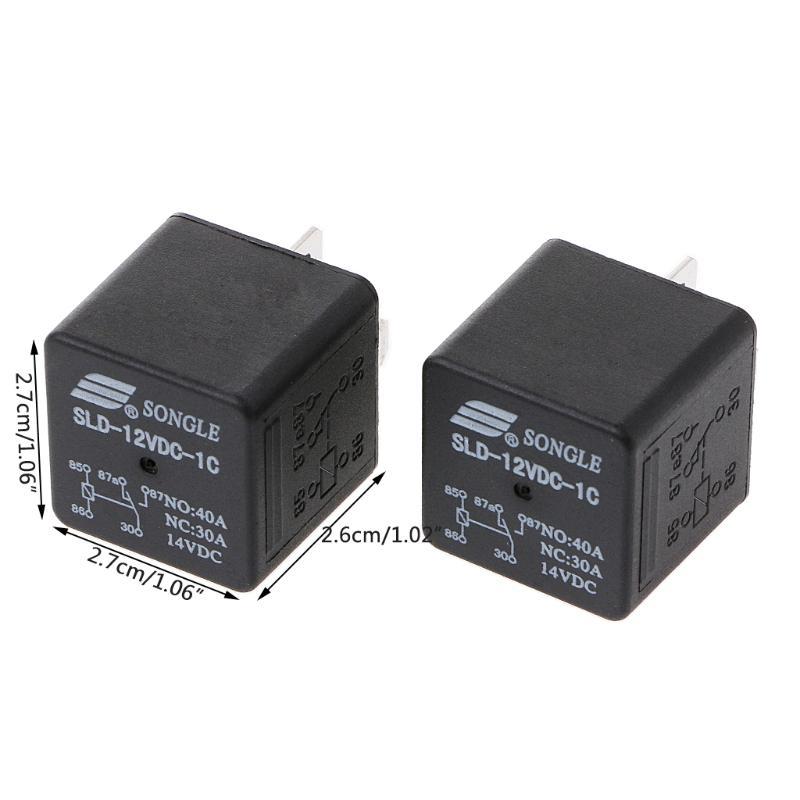 2pcs ORIGINAL SLDH-12VDC-1C NO:80A NC:60A 14VDC SONGLE Relay NEW