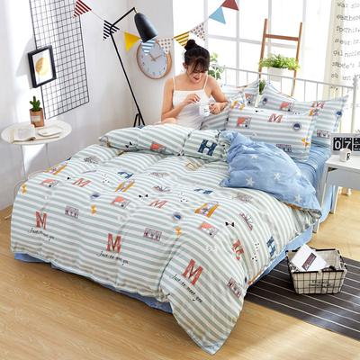 573e8be8fb Home Textiles Studengts Lovely Cartoon Printed Bedding Sets Comfortable  Breathable Cover Sets