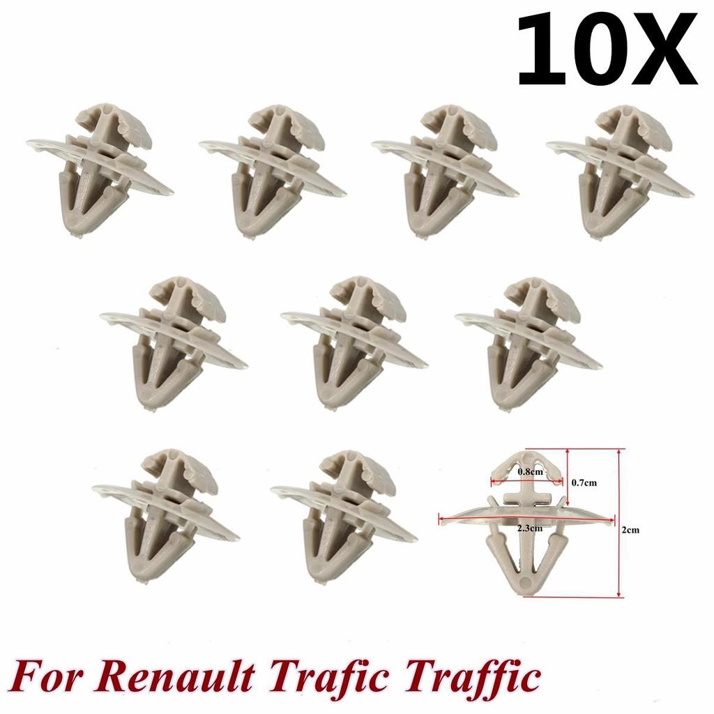 50x Clips for Renault Trafic Traffic Side Moulding Lower Protection Door Trim