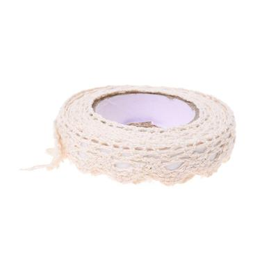 Floral Lace Washi Sticker Decor Roll  Paper Masking Adhesive Tape Craft 2cm*1.7m
