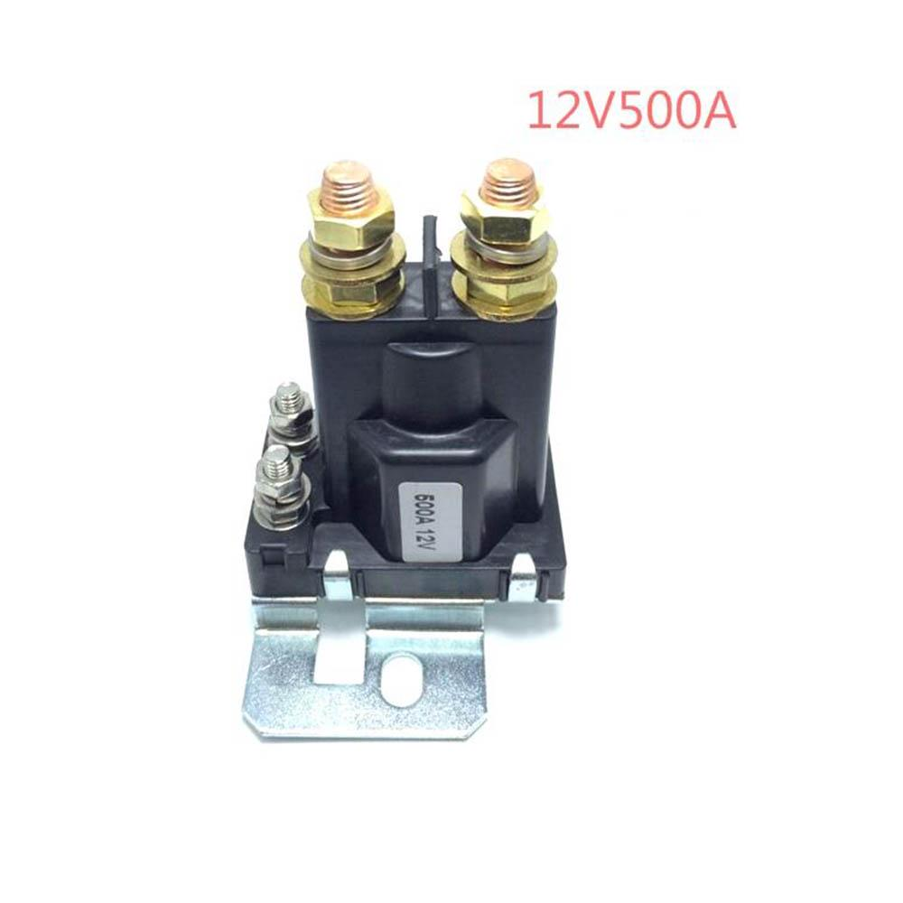 24V 500A Car Power Switch Plastic Black Dual Battery Isolator Relay Start On//Off