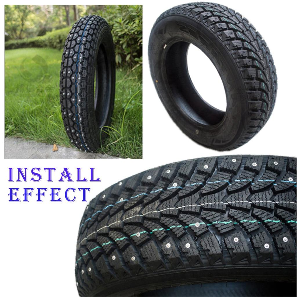 Tires with automatic spikes. They exist 57