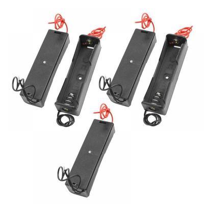 9b8e4098eed6 2pcs plástico celular batería titular caja de almacenamiento caso  organizador para 1 x 18650 batería recargable