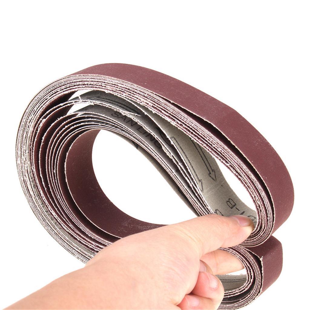 10pcs 30x580mm Sanding Belts /& Belt Polishing Grinding Grinder Machine
