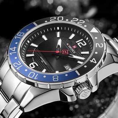 2021 New Fashion Business Military Waterproof Men Watch NF9192