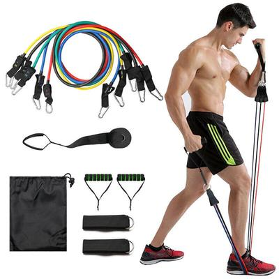 Heavy Duty Workout Exercise Crossfit Yoga Gym Fitness Resistance Band Tubes Set