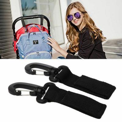 2pcs Baby Carriage Hooks Multipurpose Hooks  Stroller Hooks  Backpack Handle Bag