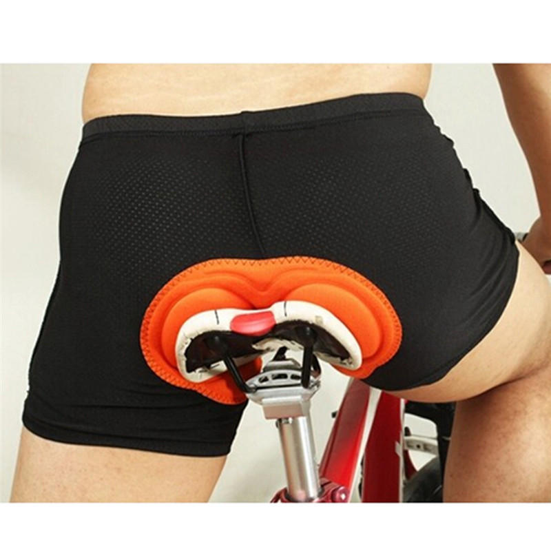 3D Padded Men Women Cycling Shorts Bicycle Bike Underwear Pants With Sponge Gel