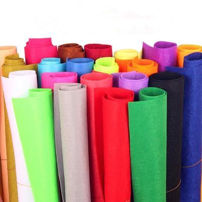 Non-woven Felt Fabric Polyester Cloth Felts DIY Kindergarten Supplies for Sewing Dolls Crafts