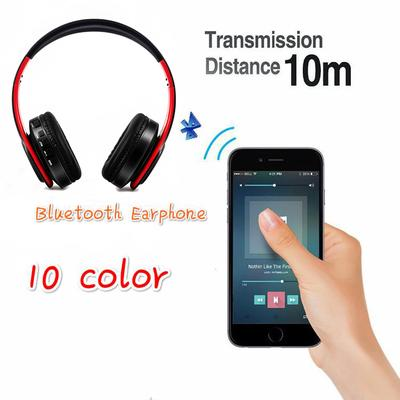 10 colors folding wireless headset headset Bluetooth music sports plug  wireless headset