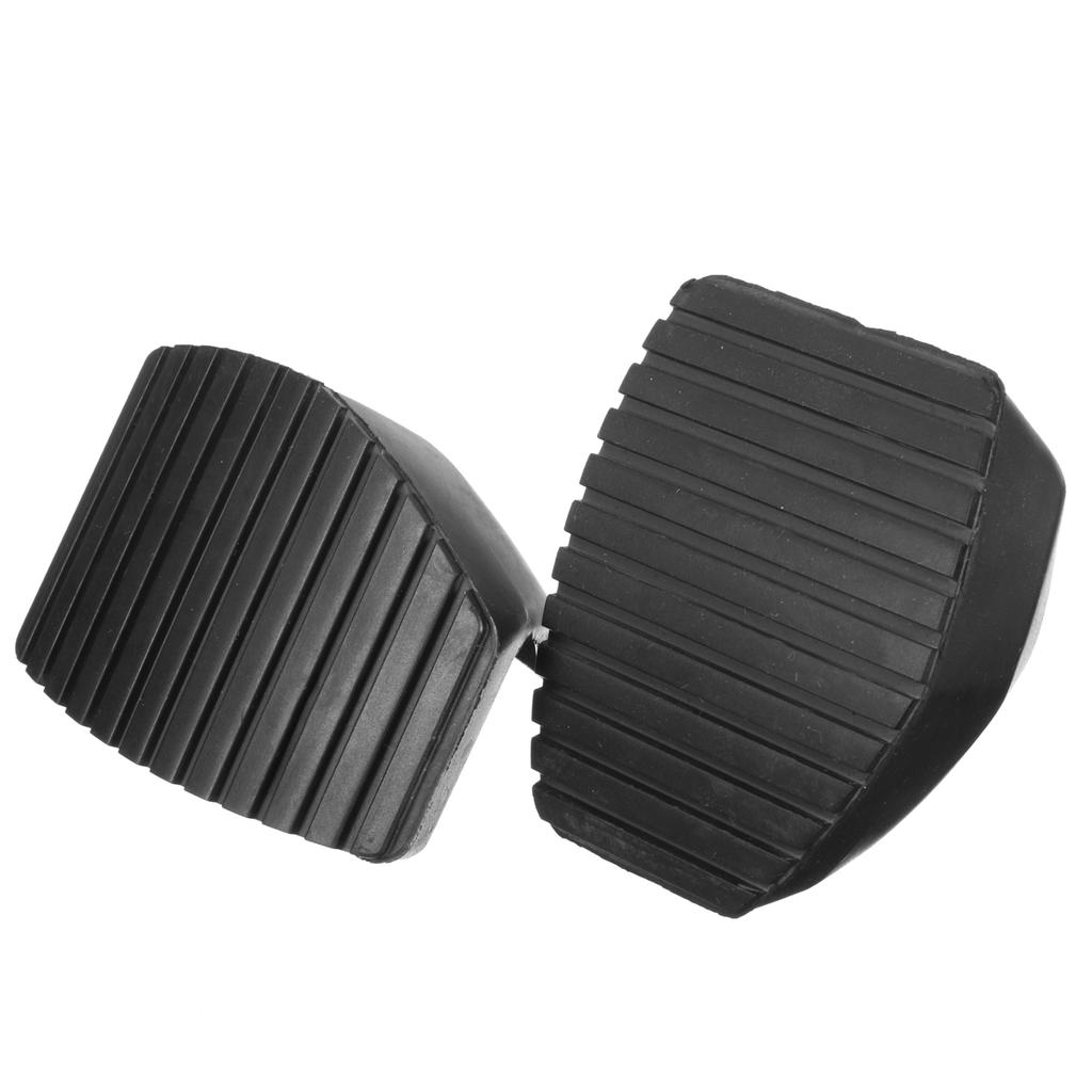 1Pair Clutch Brake Pedal Rubber Protector Cover Fit For Peugeot 1007 207 208 307