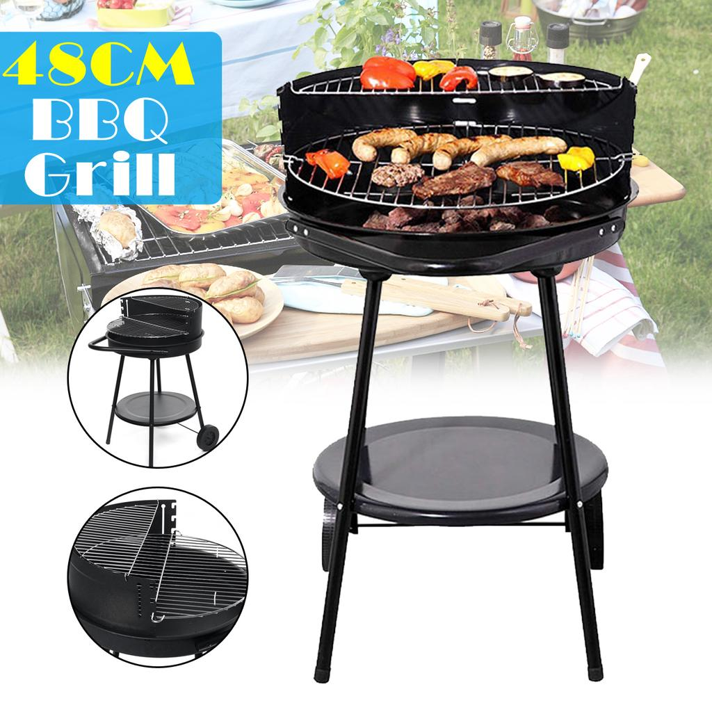 Stainless Steel Picnic Cooking Stove Stand Rack Shelf Outdoor Camping BBQ
