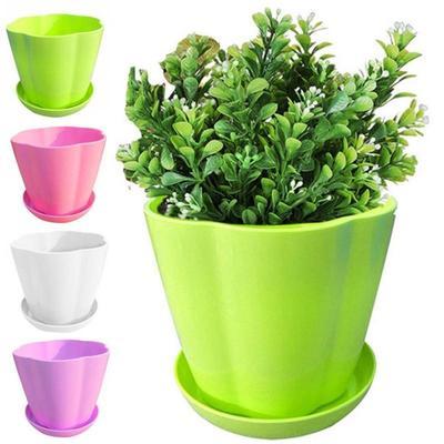 Flower Pots Pot Trays Plastic