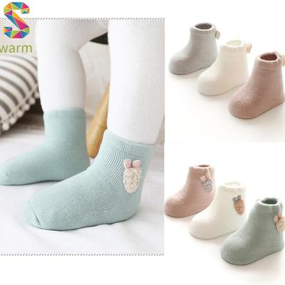 Baby Boy Girl Socks Cotton Children Floor Socks Anti-Slip Baby Step Socks