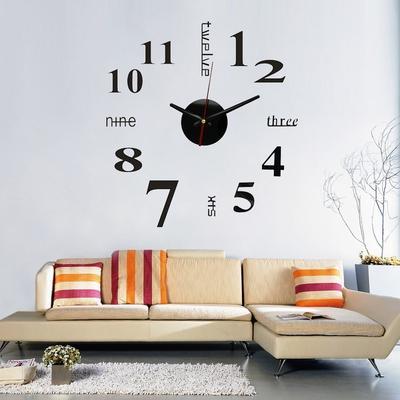 Интерьерные часы наклейки купить в часы наручные swiss rolex