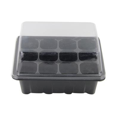 3Pcs//Set 12 Holes Seedling Starter Trays For Seed Germination Plant Propagation