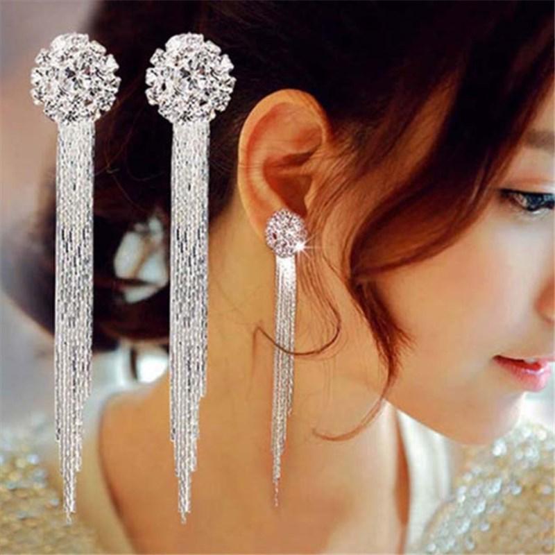 earrings and Jewelry. Long earrings