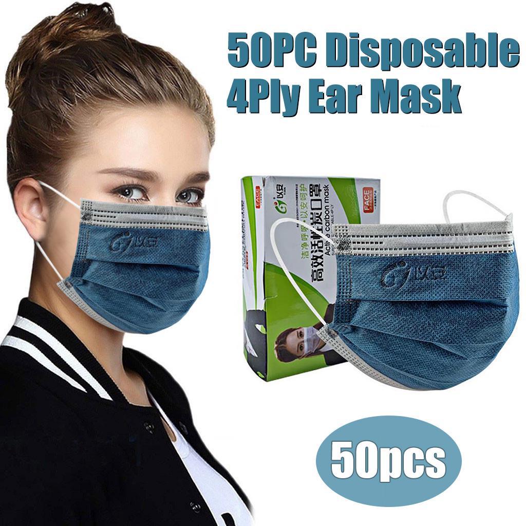 50pc Disposable Carbon Unisex