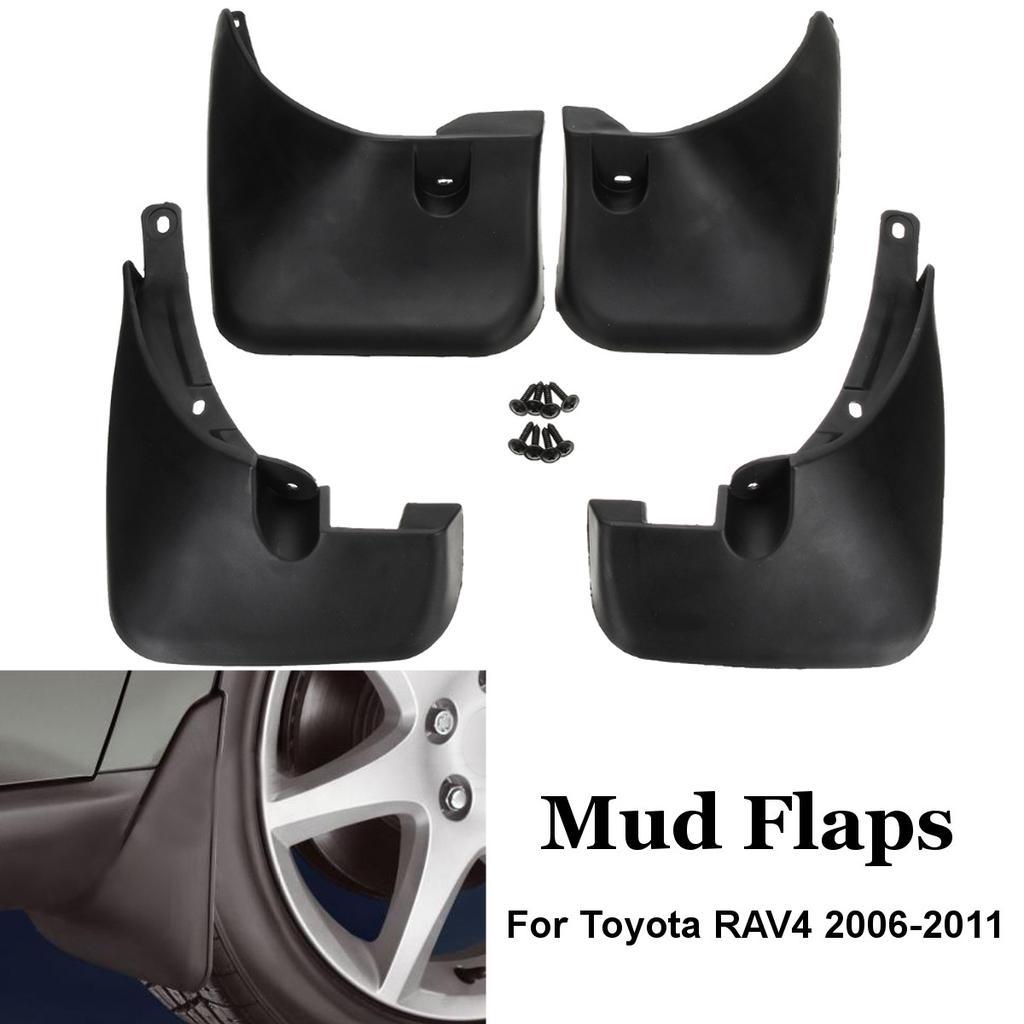 Rear For 2016-2018 Toyota RAV4 Black Mud Flaps Splash Guard Fender Front
