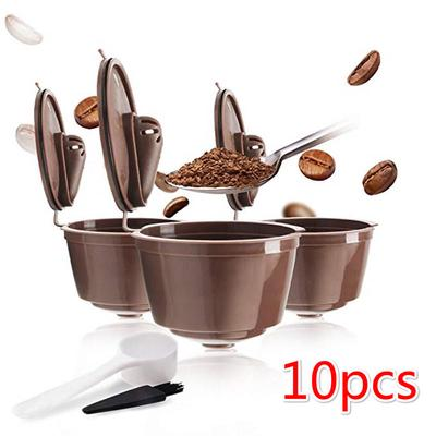Reusable Refillable Capsules Pods for Nescafe Dolce Gusto Machines Maker Coffee Capsule Pod Cup