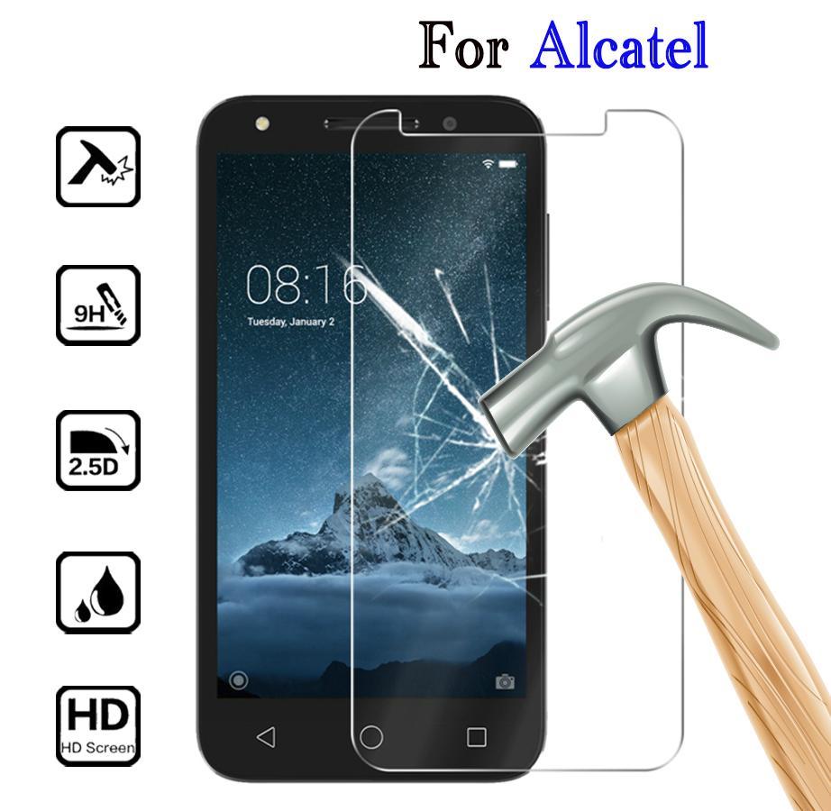 Закаленное стекло для Alcatel 1S Протектор экрана для Alcatel U5 5V 3X 3V 3C 1X Телефон Обложка Стеклянная пленка