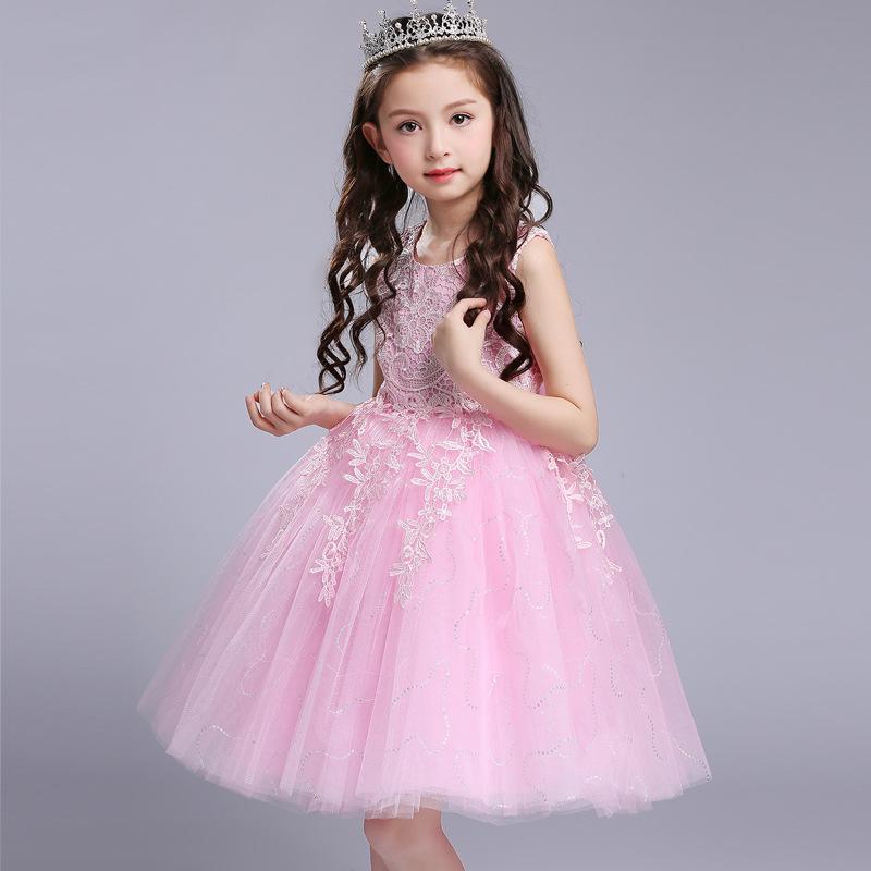 Chicas hilo esponjoso Taiwán princesa vestido de los cabritos ...