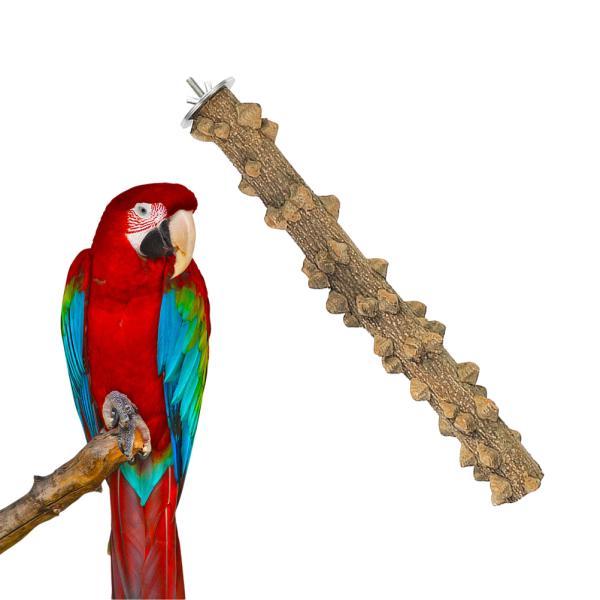 Bird Standpet Bird Parrot Wood Platform Stand Rack Toy Hamster Branch Perches Bird Cage Toys Pet Supplies Hanging Natural Wood Bird Toys