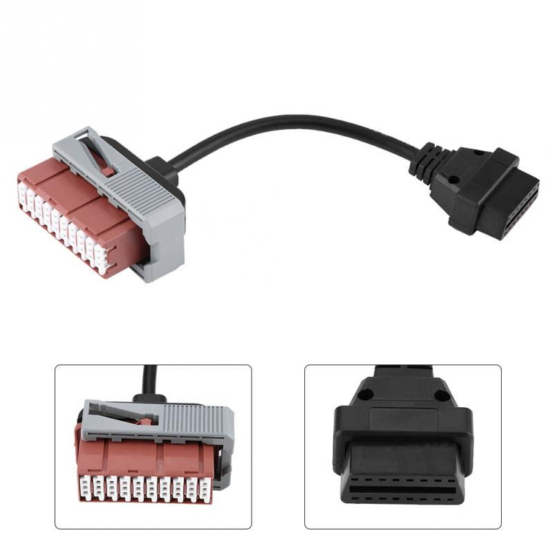 8Pcs OBD2 OBDII Cables Connectors for TCS CDP DS150E Car Diagnostic Tools Diagnostic Cables