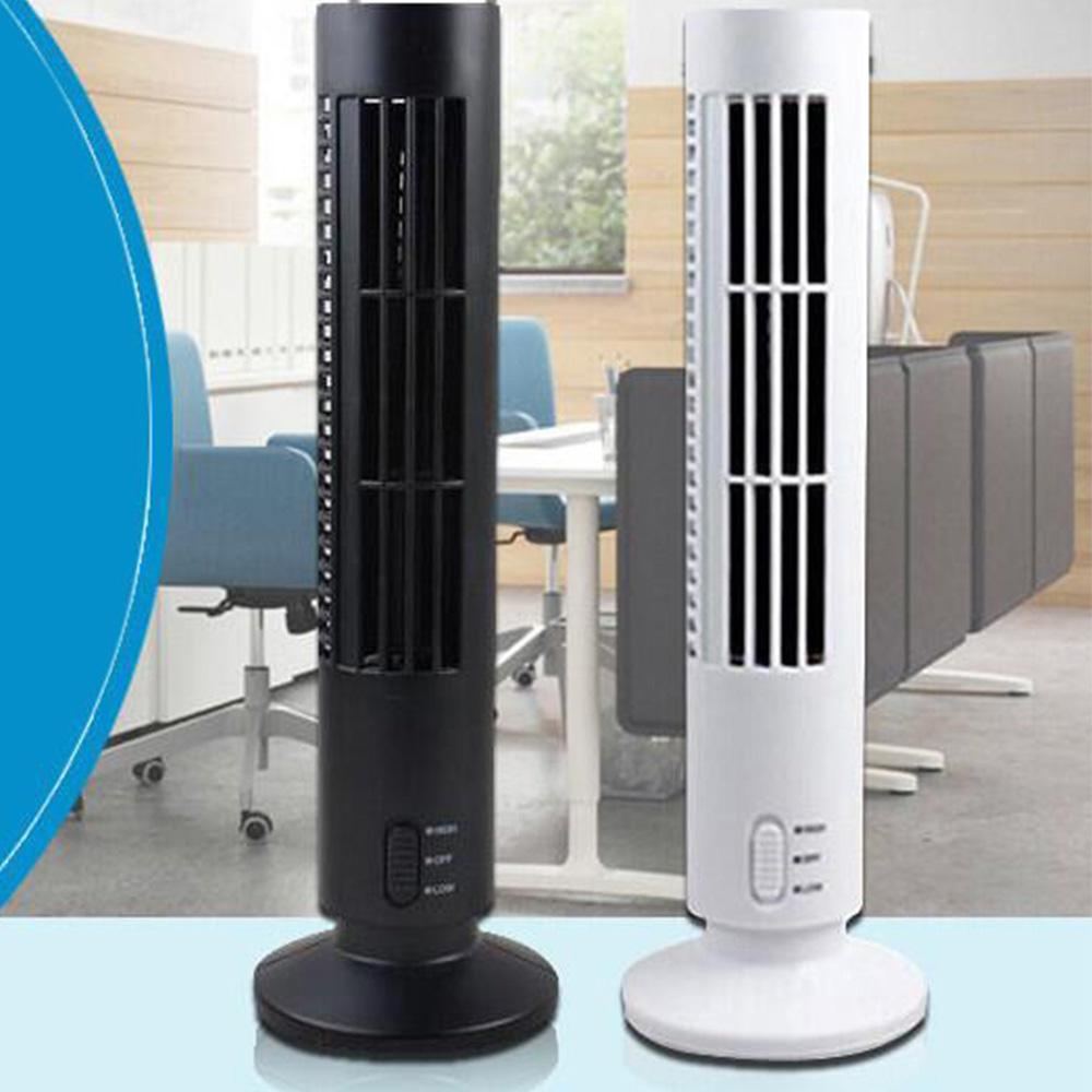 Home Appliances Portable Usb Mini Tower Fans Rotary Fans Leafless Fans Table Fans Fans Cooling Air Conditioners Purifiers Computers Notebooks Up-To-Date Styling Home Appliance Parts