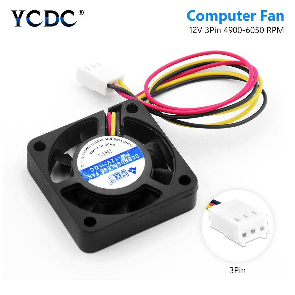5V 40mm x 40mm x 10mm 2 Wire Cooling Axial Fan CPU Printer Computer