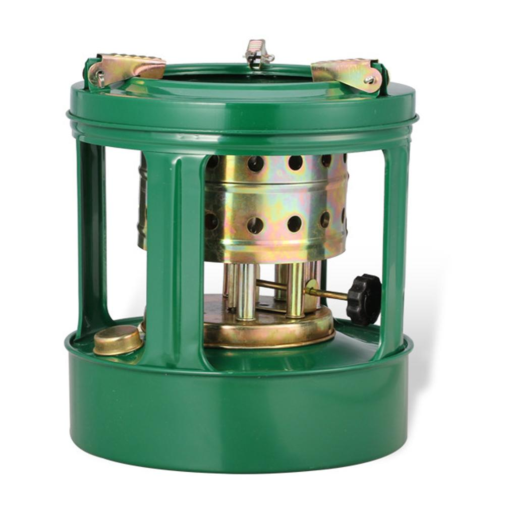 Kerosene Pressure Stove Furnace 1.5L FuelLiters For Camping Hiking Home Outdoor