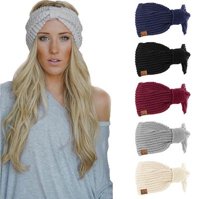 Women Winter Warm Cap Knitted Empty Skull Hat Hair Band