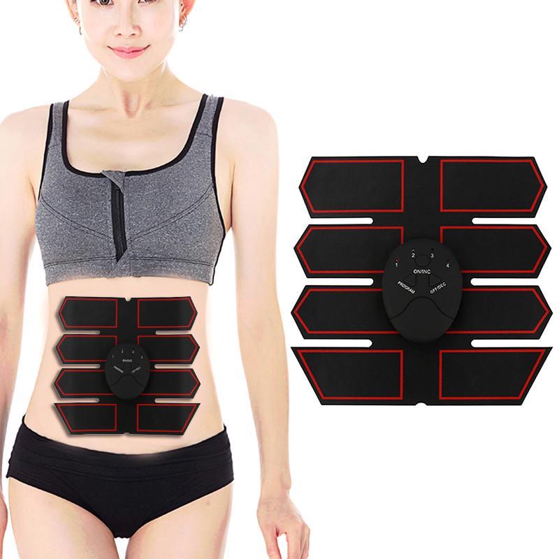 ABS брюшной мышцы стимулятор шесть режимов смарт-электрические брюшной мышцы массаж тренер электрические системы электрические расчеты программирование и оптимизация режимов